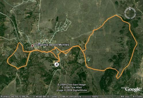 track de la ruta presentacion