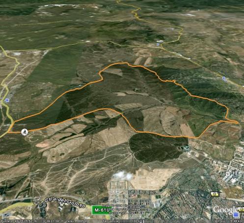 mapa 3d del soto viñuelas